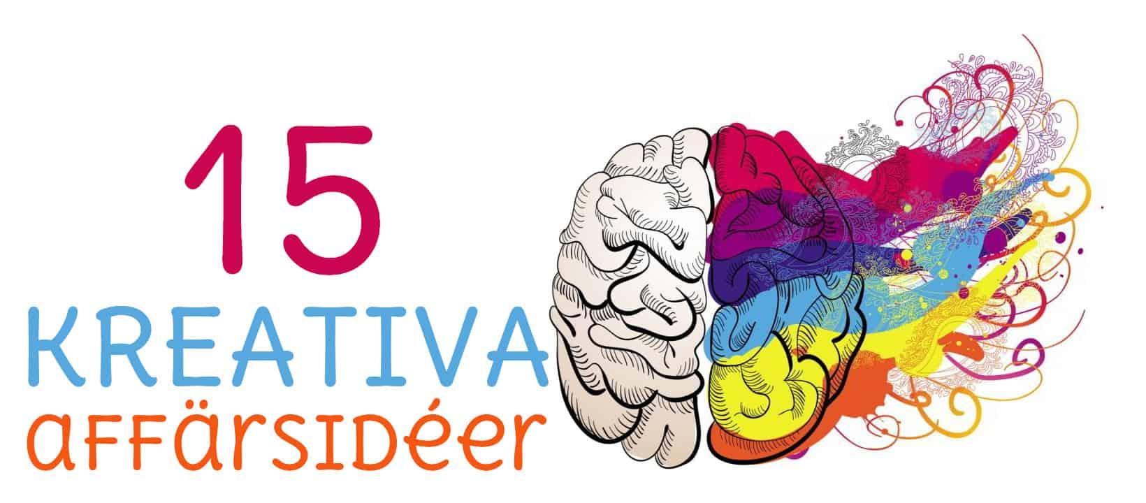 15 kreativa affärsidéer
